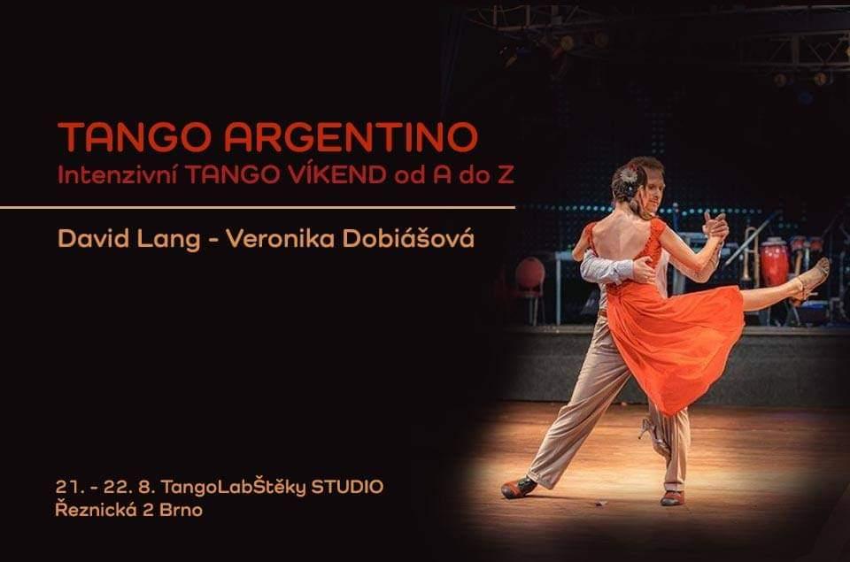 Intenzivní tango víkend s Verčou a Davidem