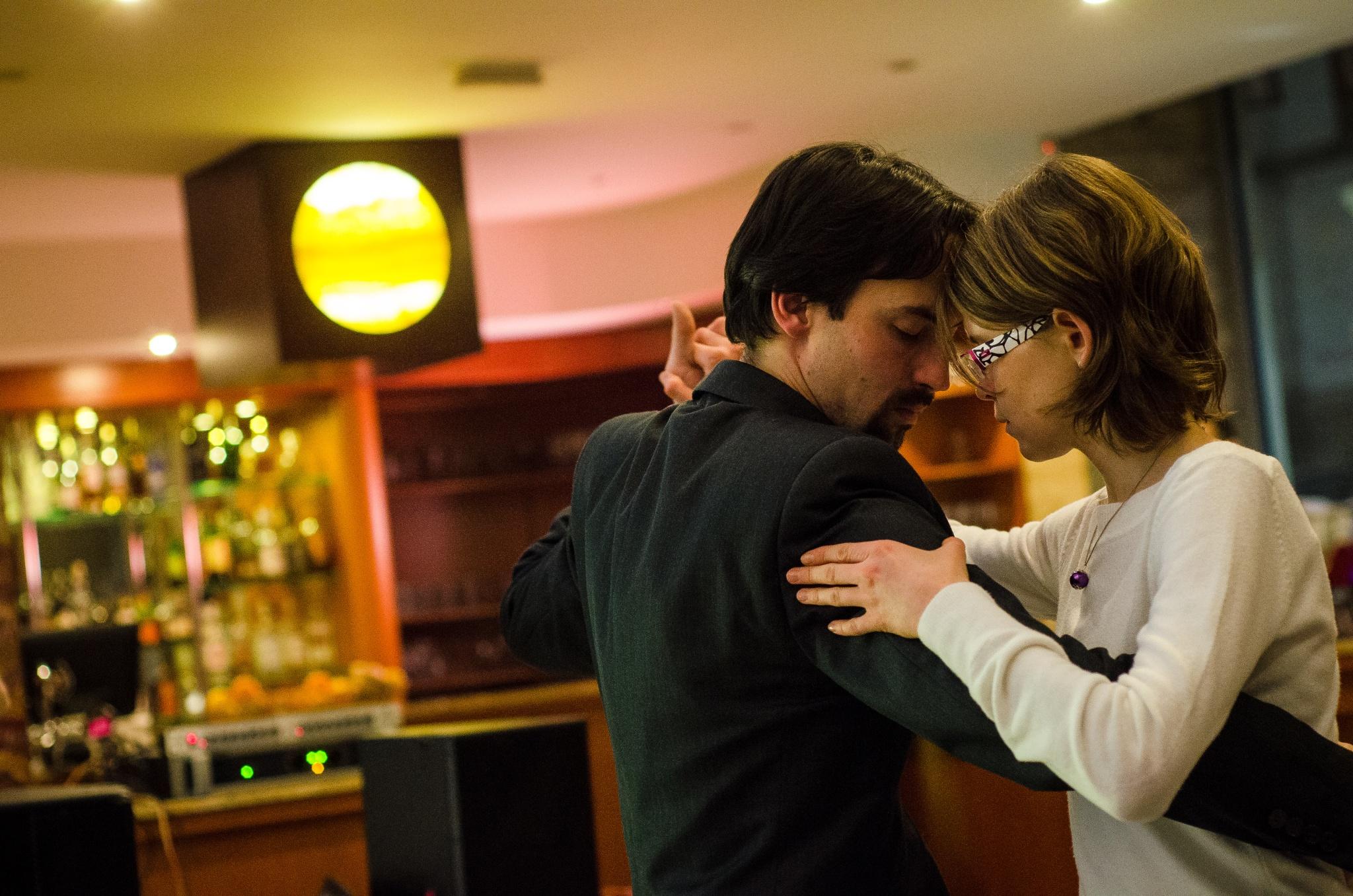 Argentinské tango – zkušební lekce