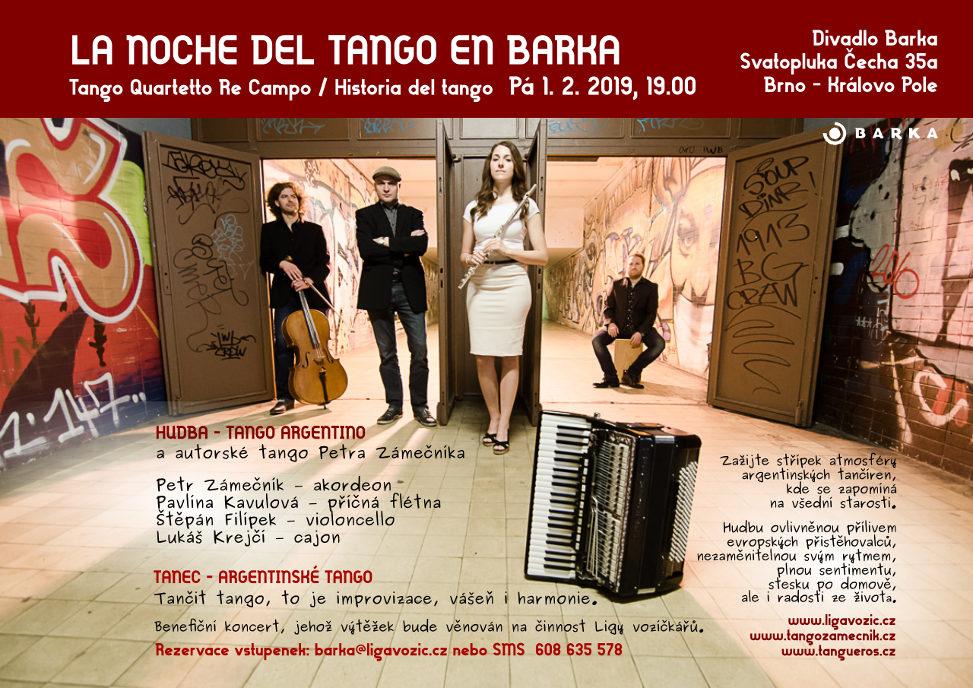 Benefiční koncert v divadle Barka